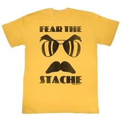 Magnum PI Shirt Fear The Stache Gold T-Shirt