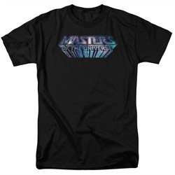 Masters Of The Universe Shirt Space Logo Adult Black Tee T-Shirt