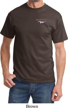 Mens Ford Tee Mustang Pocket Print T-shirt