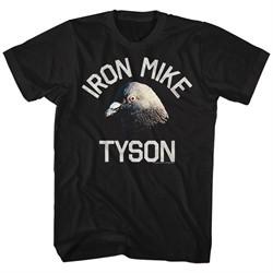 Mike Tyson Shirt Pigeon Black T-Shirt