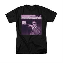 Miles Davis Shirt Prestige Profiles Black T-Shirt