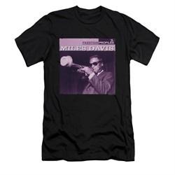 Miles Davis Shirt Slim Fit Prestige Profiles Black T-Shirt