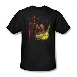 Mirrormask Shirt Big Top Poster Adult Black Tee T-Shirt