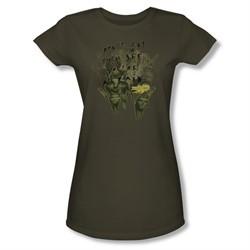 Mirrormask Shirt Juniors Don't Let Them Green Tee T-Shirt