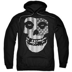 Misfits Hoodie Fiend Flag Black Sweatshirt Hoody
