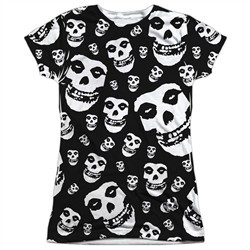 Misfits Shirt Fiends All Over Sublimation Juniors T-Shirt