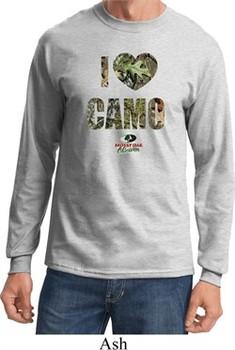 Mossy Oak I Love Camo Long Sleeve Shirt