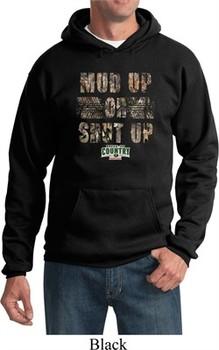Mossy Oak Mud Up or Shut Up Hoodie