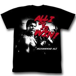 Muhammad Ali Shirt Look At Him Go Adult Black Tee T-Shirt