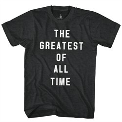 Muhammad Ali Shirt The Greatest Of All Time Black T-Shirt