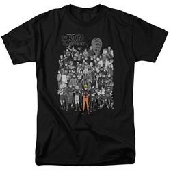 Naruto Shippuden Shirt Characters Black T-Shirt