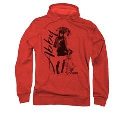 NCIS Hoodie Abby and K9 Red Sweatshirt Hoody