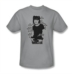 NCIS Shirt Abby Crosses Silver T-Shirt