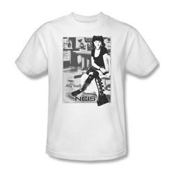 NCIS Shirt Abby Sitting White T-Shirt
