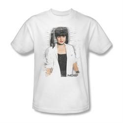 NCIS Shirt Abby Skulls White T-Shirt