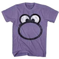 Nerds Candy Shirt Big Face Purple T-Shirt