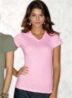 Next Level Ladies T-Shirt V-Neck Cotton Sporty Tee Shirt