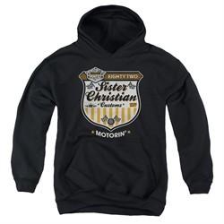 Night Ranger Kids Hoodie Motorin Black Youth Hoody