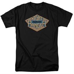 Night Ranger Shirt Logo Black T-Shirt