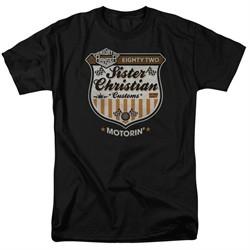 Night Ranger Shirt Motorin Black T-Shirt