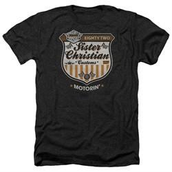 Night Ranger Shirt Motorin Heather Black T-Shirt