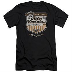 Night Ranger Slim Fit Shirt Motorin Black T-Shirt