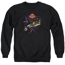 Night Ranger Sweatshirt 7 Wishes Adult Black Sweat Shirt