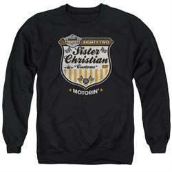 Night Ranger Sweatshirt Motorin Adult Black Sweat Shirt