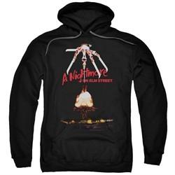 Nightmare On Elm Street Hoodie Alternate Poster Black Sweatshirt Hoody