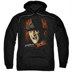 Nightmare On Elm Street Hoodie Freddy Krueger Black Sweatshirt Hoody