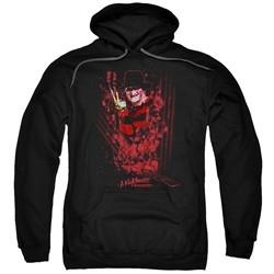 Nightmare On Elm Street Hoodie One Two Freddys Coming For You Black Sweatshirt Hoody