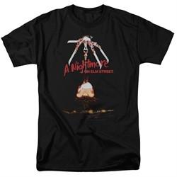 Nightmare On Elm Street Shirt Alternate Poster Black T-Shirt