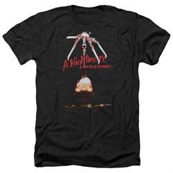Nightmare On Elm Street Shirt Alternate Poster Heather Black T-Shirt