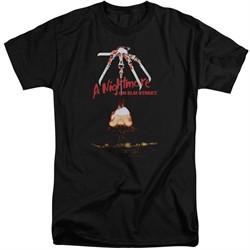 Nightmare On Elm Street Shirt Alternate Poster Tall Black T-Shirt