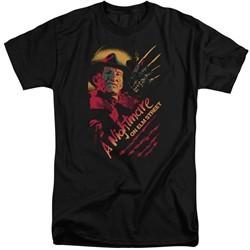 Nightmare On Elm Street Shirt Freddy Claws Tall Black T-Shirt