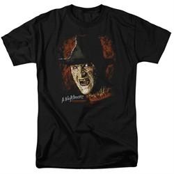 Nightmare On Elm Street Shirt Freddy Krueger Black T-Shirt