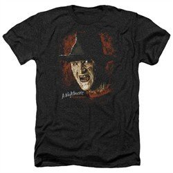 Nightmare On Elm Street Shirt Freddy Krueger Heather Black T-Shirt