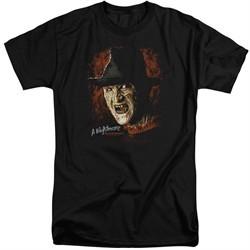 Nightmare On Elm Street Shirt Freddy Krueger Tall Black T-Shirt