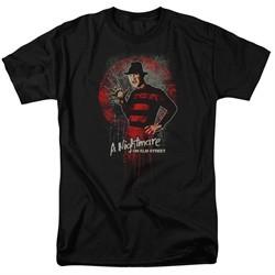 Nightmare On Elm Street Shirt Springwood Slasher Black T-Shirt