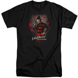 Nightmare On Elm Street Shirt Springwood Slasher Tall Black T-Shirt