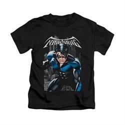 Nightwing DC Comics Shirt A Legacy Kids Black Youth Tee T-Shirt