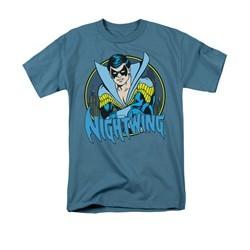 Nightwing DC Comics Shirt Nightwing 2 Adult Slate Tee T-Shirt
