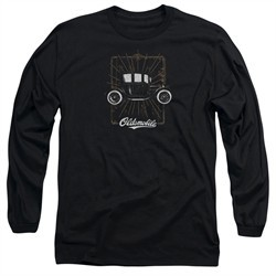 Oldsmobile Long Sleeve Shirt 1912 Defender Black Tee T-Shirt