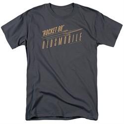 Oldsmobile Shirt Rocket 88 Charcoal T-Shirt