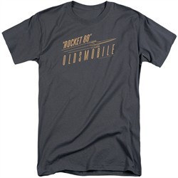 Oldsmobile Shirt Rocket 88 Charcoal Tall T-Shirt