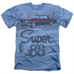 Oldsmobile Shirt Super 88 Heather Light Blue T-Shirt