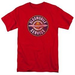 Oldsmobile Shirt Vintage Service Red T-Shirt