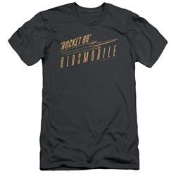 Oldsmobile Slim Fit Shirt Rocket 88 Charcoal T-Shirt