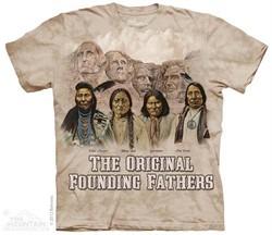 Original Founding Fathers Shirt Tie Dye Adult T-Shirt Tee