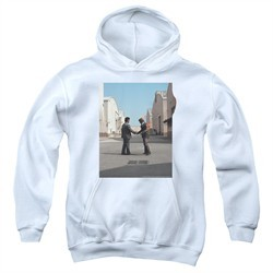 Pink Floyd Kids Hoodie Wish You Were Here White Youth Hoody